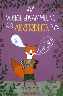 Joan Capafons Volksliedersammlung Accordion