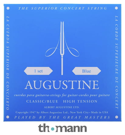 Saiten für Konzertgitarre Augustine Regal blue Satz oder Einzelsaiten
