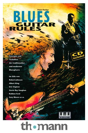 AMA Verlag P  Fischer Blues Guitar Rules