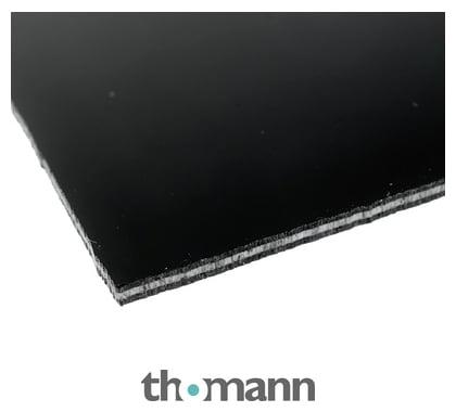 Goeldo PG53B Pickguard-Rohling 3-lagig 41 x 23 cm schwarz ca