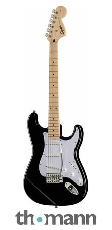 Fender Squier Affinity Strat MN BK – Thomann UK