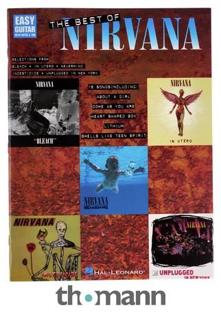 Faber Music The Best Of Nirvana Thomann Nederland