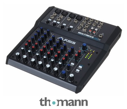 table de mixage alesis multimix 8 usb