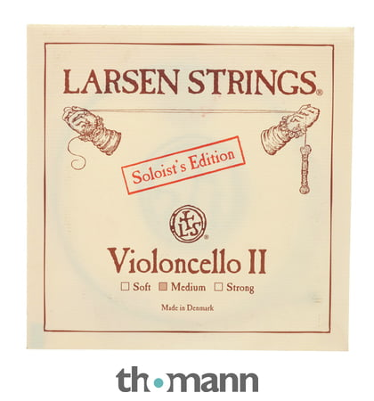Larsen Soloists a D Thomastik Spirocore G C 4//4 Violoncello Corde Set Strings