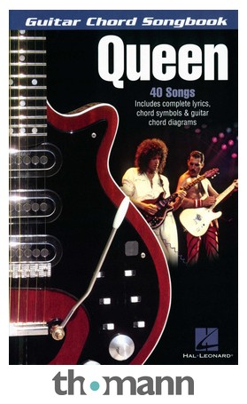 Hal Leonard Guitar Chord Songbook Queen Thomann Uk