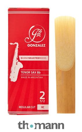 RC Regular Cut Gonzalez Tenor Saxophone Reeds 3