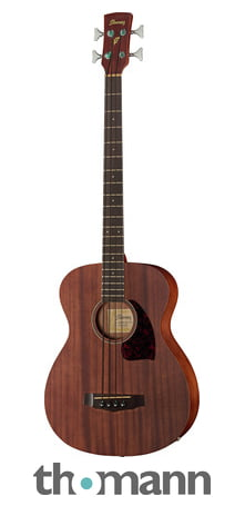 Ibanez Pcbe12-opn Acoustic Bass Guitar With Pick-up B Stock Guitars & Basses Acoustic Electric Guitars