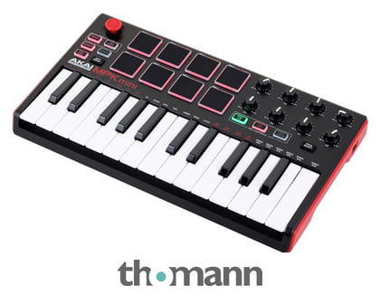 akai mpk mini mk2 thomann united states. Black Bedroom Furniture Sets. Home Design Ideas