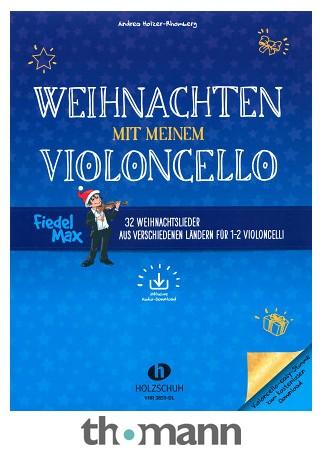 Weihnachtsessen Celle.Holzschuh Verlag Fiedel Max Weihnachten Cello
