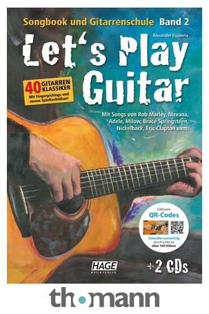 Hage Musikverlag Let's Play Guitar Vol 2