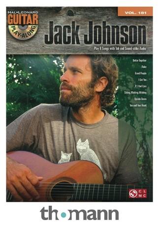 Hal Leonard Guitar Play-Along Jack Johnson – Thomann UK