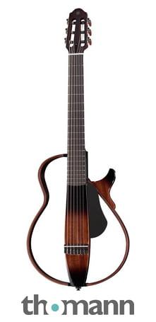 Guitars & Basses Musical Instruments & Gear Yamaha Slg200n Nt Silent Guitar Nylon Strings Natural Free Ems Shipping