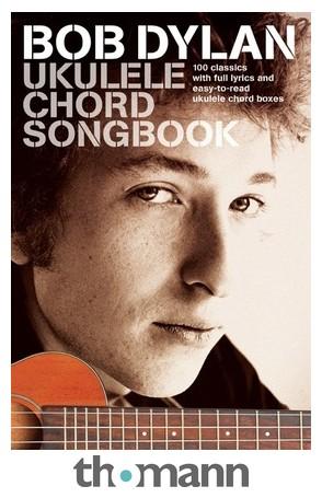 Wise Publications Bob Dylan Ukulele Chord – Thomann UK