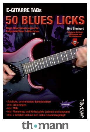 Tunesday Records 50 Blues Licks m Download