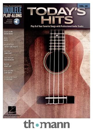 Hal Leonard Ukulele Play-Along: Today Hits