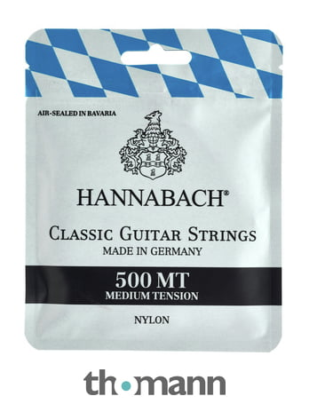 Hannabach 500MT Saitensatz KonzertgitarreNeu