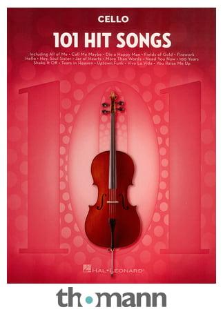 Hal Leonard 101 Hit Songs For Cello Thomann Uk