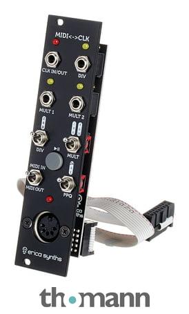 Mutable Instruments Yarns Eurorack Synthesizer MIDI Module Black Aluminum