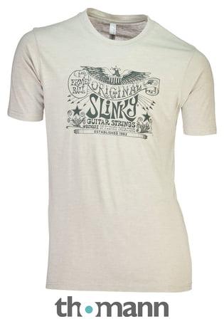 Ernie Ball T-Shirt Slinky Silver M – Thomann France 6f70784c27bc