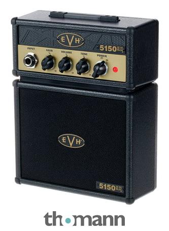 43c086464cc Evh EL34 5150 Micro Stack BK Gold – Thomann UK