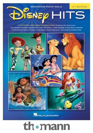 Disney Weihnachtslieder.Hal Leonard Piano Solo Disney Hits