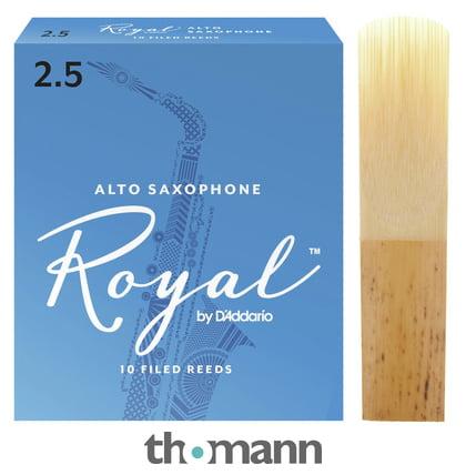 Rico Royal Alto Saxophone Sax Reed Hardness 2.5 SINGLE REED