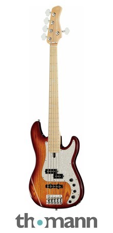 Marcus Miller P7 Swamp Ash 5 TS 2nd Gen on