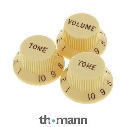 d681118219179 Fender Aged Knobs Strat Set LH – Thomann UK