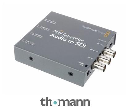 Blackmagic Design Mini Converter Audio To Sdi Thomann Uk