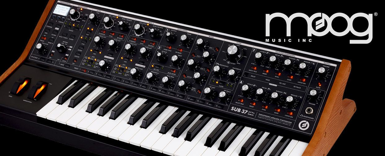 Moog Sub37 Tribute Edition
