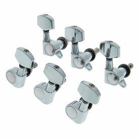 6pc 3R 3L geschlossen Gitarre Stimmwirbel Key Tuner Mechaniken für